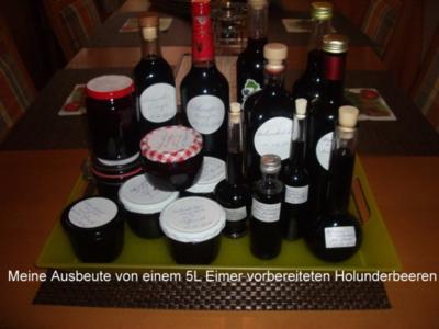Holunderbeeren -Variationen - Rezept