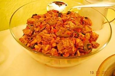 Spanischer Fleischsalat - Rezept