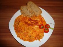 Ajvar - Omelett - Rezept