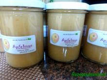 Obst:   APFELMUS ... Herstellung für den Vorrat - Rezept