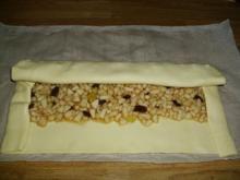 Blätterteig-Birnenstrudel - Rezept