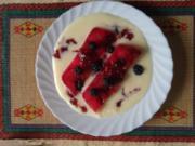 Blackberry Bisquit Jello - Rezept