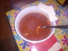 Tomaten- Knoblauch- Käse- Suppe - Rezept