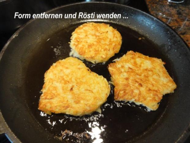 Kartoffel:   RÖSTI  schnell selbstgemacht - Rezept - Bild Nr. 3
