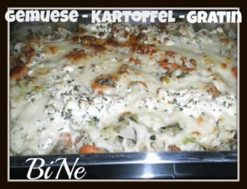 BiNe` S GEMUESE - KARTOFFEL - GRATIN - Rezept