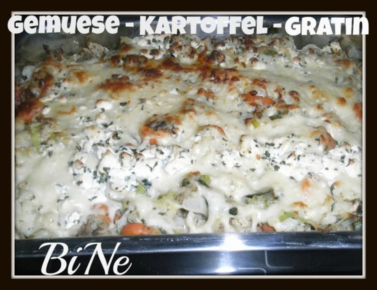 BiNe` S GEMUESE - KARTOFFEL - GRATIN - Rezept von Bine13100
