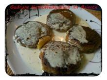 Kartoffeln: Gefüllte Kartoffelküchlein im Asia-Stil - Rezept
