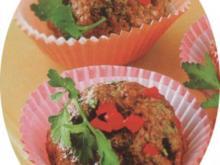 Muffin aus Hackfleisch und Paprika - Rezept