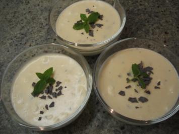 Dessert: Stracciatella-Creme - Rezept