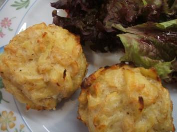 Rezept: Pikantes Backen: Sauerkraut-Muffins