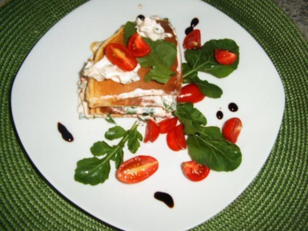 Pfannkuchen-Torte - Rezept