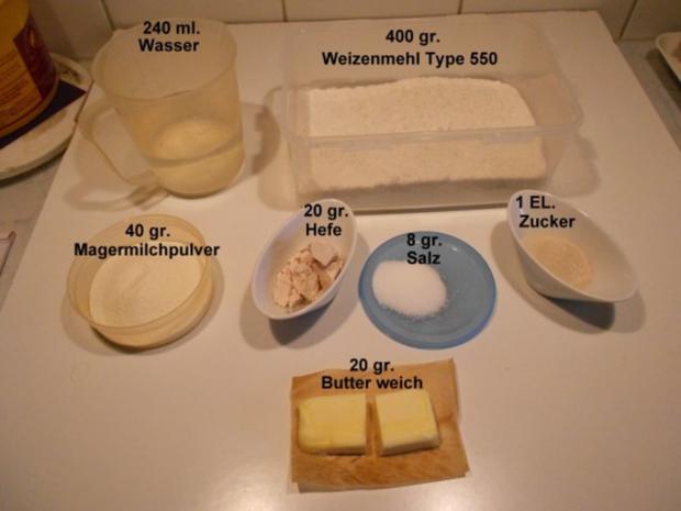 Hamburgerbrötchen - Rezept - Bild Nr. 2