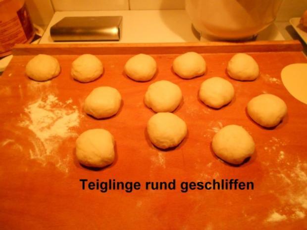 Hamburgerbrötchen - Rezept - Bild Nr. 11