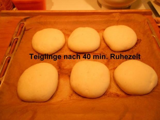 Hamburgerbrötchen - Rezept - Bild Nr. 16