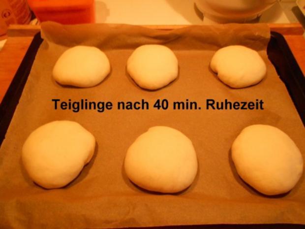 Hamburgerbrötchen - Rezept - Bild Nr. 17