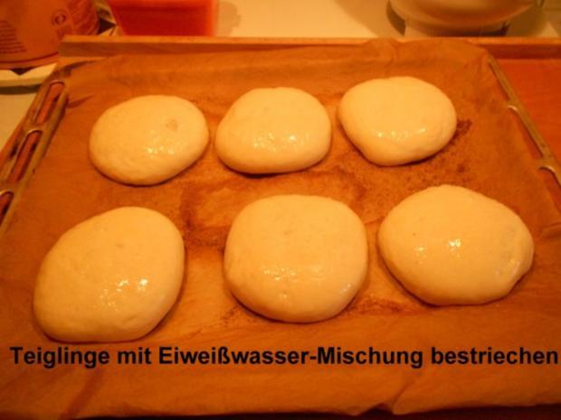 Hamburgerbrötchen - Rezept - Bild Nr. 18