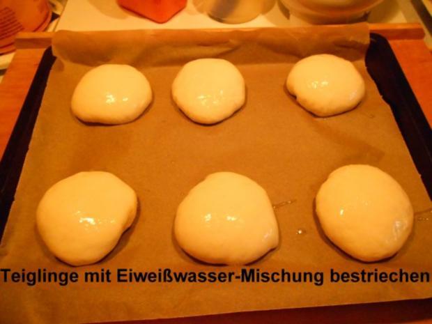 Hamburgerbrötchen - Rezept - Bild Nr. 20
