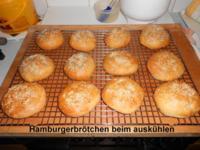 Hamburgerbrötchen - Rezept
