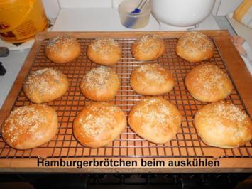 Rezept: Hamburgerbrötchen