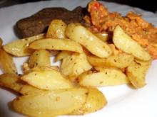 Beilage: Zitronen-Ingwer-Ofenkartoffeln - Rezept