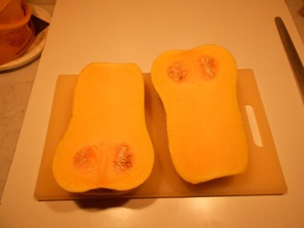 Kartoffel - Krapfen  mit Kürbiskraut - Rezept - Bild Nr. 4