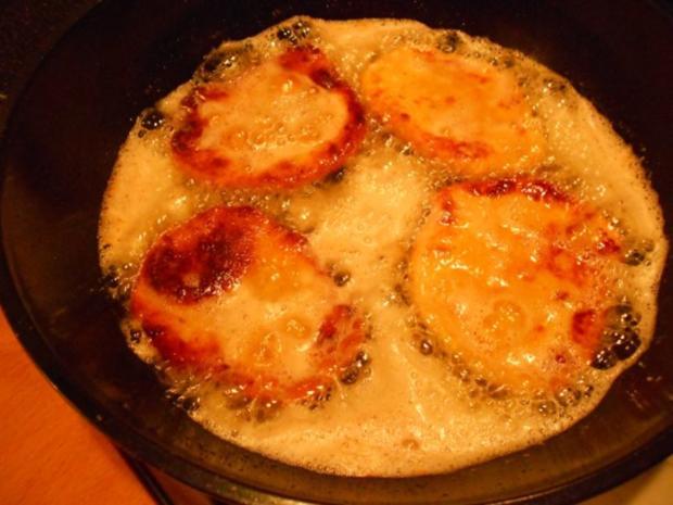 Kartoffel - Krapfen  mit Kürbiskraut - Rezept - Bild Nr. 31