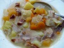 Steckrüben-Weißkohl-Eintopf - Rezept