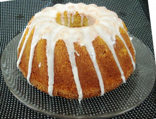 Zitronen-Mandel Kuchen - Rezept