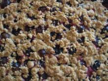 Pflaumenkuchen mit Zimtstreusel - Rezept