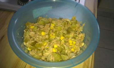 Thunfisch Wrap - Rezept
