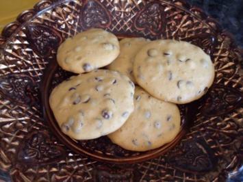 Chocolate Chip Cookies; Kekse bzw. Plätzchen - Rezept