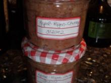 Apfel-Feigen-Chutney - Rezept
