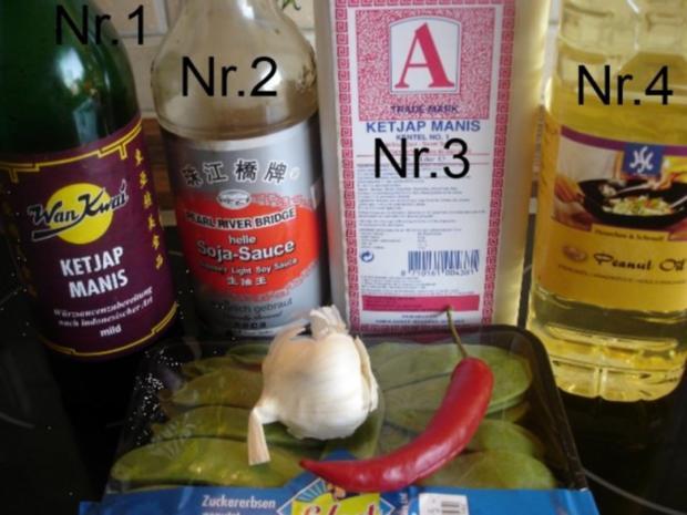 Gebratene Zuckerschoten aus dem Wok - Rezept - Bild Nr. 2