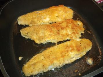 Panierter Fisch - Rezept