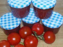Tomatenmarmelade mit Prosecco - Rezept