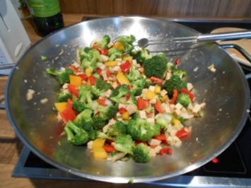 Gemüse-Tofu-Wok - Rezept