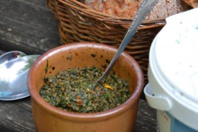 Giersch- Pesto - Rezept