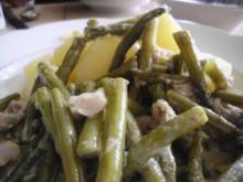 Grüne Bohnen mit Matjes - Rezept