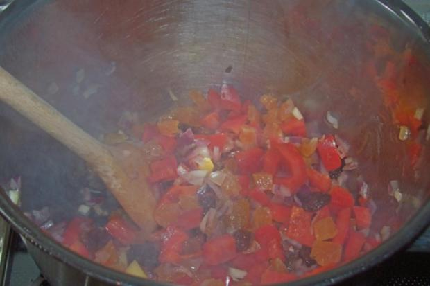 Beilagen: Fruchtig-scharfes Nektarinen-Chutney - Rezept - Bild Nr. 4