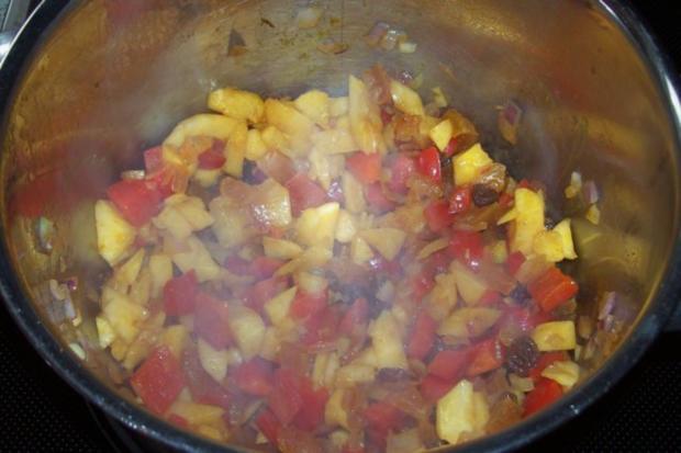 Beilagen: Fruchtig-scharfes Nektarinen-Chutney - Rezept - Bild Nr. 5