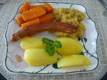 Unter 30 Minuten : Oma´s Sauerkraut mit Wiener aus der Pfanne - Rezept