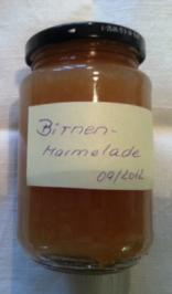Birnen-Fruchtaufstrich - Rezept