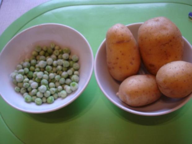 Gekochte Wachteleier mit Senfsauce und Kartoffelpüree mit Erbsen - Rezept - Bild Nr. 14
