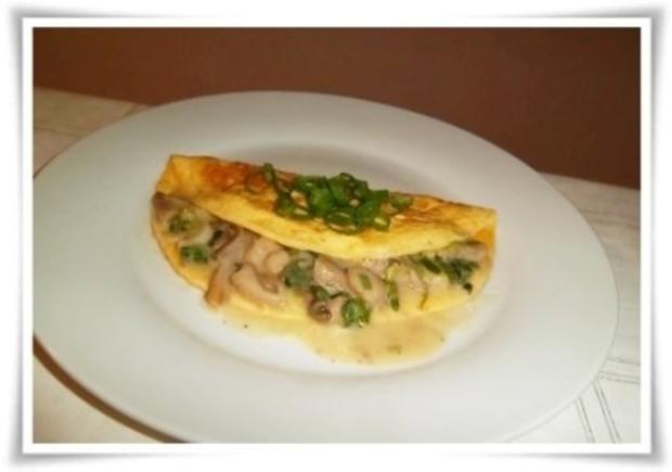Rezept Für Omelett omelett mit austernpilze in sahnesauce rezept kochbar de