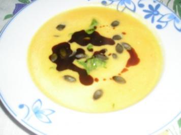 Meine Kürbis-Karotten-Ingwer Suppe - Rezept