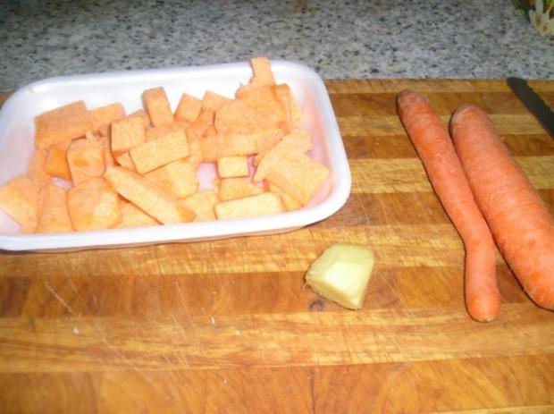 Meine Kürbis-Karotten-Ingwer Suppe - Rezept - Bild Nr. 2