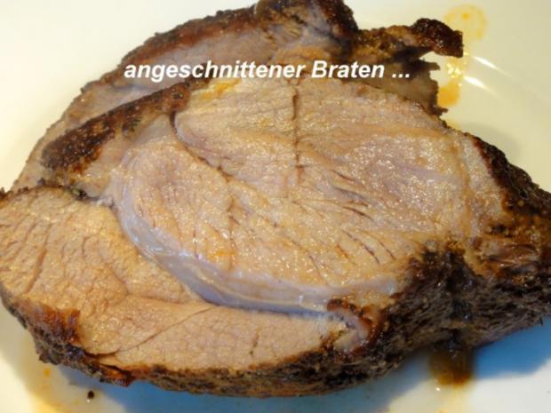 Fleisch:    SCHWEINEBRATEN -bayrische Art- - Rezept - Bild Nr. 10