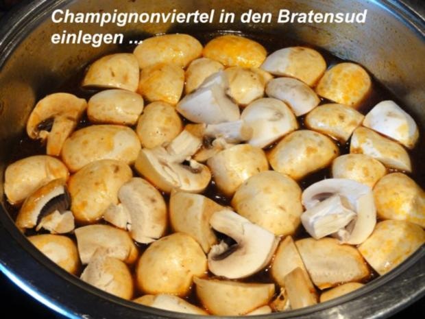Fleisch:    SCHWEINEBRATEN -bayrische Art- - Rezept - Bild Nr. 11