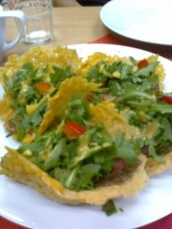 Parmesan - Körbchen - Rezept