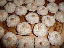 Weihnachtsgebäck : Mandel -Makronen - Rezept
